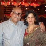 Dr. Ranjana with Vilas Dhanu