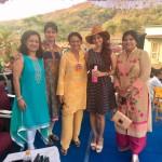 With actors Tanuja & Tanishaa Mukerji